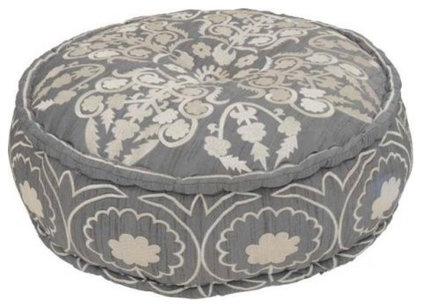 Eclectic Floor Pillows And Poufs by Le Souk
