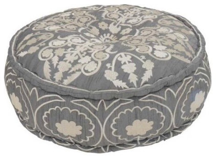 Eclectic Footstools And Ottomans by Le Souk