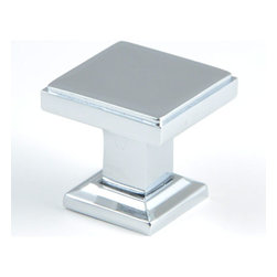 "Rusticware - 991 1 1/8"" Knob - Chrome - This Chrome cabinet knob is a versatile and stylish piece of hardware that will add to the decor of any room in your home. All Rusticware knobs and pulls come with standard 8/32"" screws and screws that are 1/2"" longer to fit most applications."