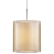 Pendant Lighting Puri Drum Pendant by Sonneman