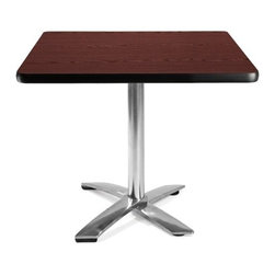 OFM - OFM 36 Square Flip-Top Multi-Purpose Table - This 36 square table looks elegant in both lunch and meeting rooms and looks great with the model 310 stack chairs. The banding makes the edges smooth and gives it a finished appearance. The honeycomb core makes the table both lightweight and sturdy.
