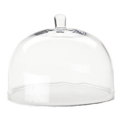 Rosanna - Round Glass Cake Dome By Rosanna - Our Round Glass Cake Dome is the perfect complement to showcasing your delectable treats. This round dome adds an elegant finishing touch to a dessert table's decor.