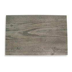 "Brownstone Studio Ltd. - Birch Faux Wood Hard Placemat - This contemporary, faux wood placemat resembles birch wood with beautiful detail and adds a natural touch to any table setting. The placemat has a non-skid back to keep it in place and protect your tabletop. Measures 12"" x 18"". Wipes clean."