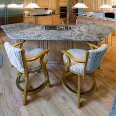 Contemporary  by All Granite and Marble Corp.