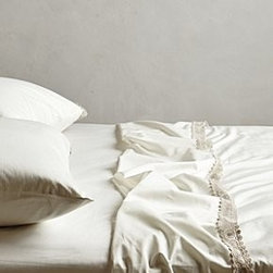Anthropologie - Delancey Sheet Set - *Set includes one flat sheet, one fitted sheet, and two standard pillowcases