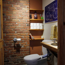 Eclectic Bathroom by Esther Hershcovich