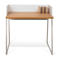 Temahome - Volga Desk - Ideal for small apartments or a childrens room, the Volga desk's reduced size still offers plenty of space to work with a any laptop or tablet.