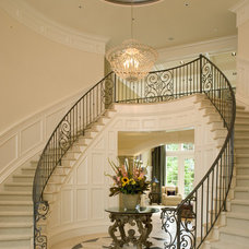 Traditional Staircase by John F Buchan Homes