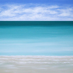 """Island Ocean"" (Original) By Chris Maestri - This Seascape Painting Was Done In Acrylic On Canvas In 2013."