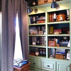 Traditional Home Office by Kari McIntosh Design