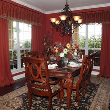 Traditional Dining Room by Heavenly Haus Interiors