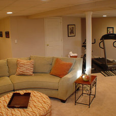 Eclectic  by Total Basement Finishing