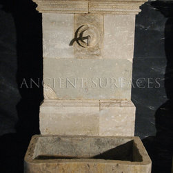 all Fountain for the Patio, Backyard and Frontyard - Image provided by 'Ancient Surfaces'