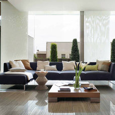 Contemporary Living Room by Italics Tile & Stone