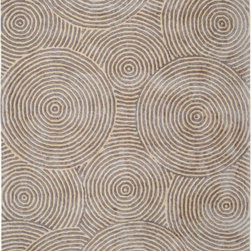 "Dynamic Rugs - Dynamic Rugs Celeste 99225-901 (Silver, Beige) 3'6"" x 5'6"" Rug - This Hand Tufted rug would make a great addition to any room in the house. The plush feel and durability of this rug will make it a must for your home. Free Shipping - Quick Delivery - Satisfaction Guaranteed"