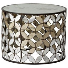 eclectic side tables and accent tables by Stray Dog Designs