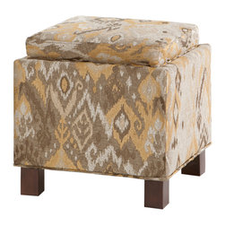 Madison Park - Madison Park Shelley Square Storage Ottoman With Pillows - These square storage ottomans with two matching accent pillows bring a room's d̩cor together as an ideal way to add that sootheing neutral tone and comfort to your living space. Wood: Select hardwoods and plywood frame / Birch legs Wood Finish: Espresso Fabrication: 100% Polyester Filling: High Density Foam Additional Features: Storage with 2 Pillows / Reversible Hard Surface For Serving