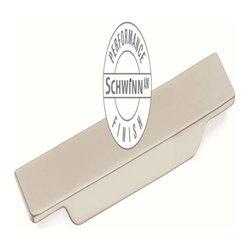 Schwinn Hardware - Schwinn Hardware Surfboard Pull 4 2/3 Inch Satin Nickel Performance - Schwinn Hardware Surfboard Pull 4 2/3 Inch Satin Nickel Performance