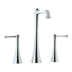 "Cifial - Cifial 245.180.721 Brookhaven L-Spout Double Handle Widespread Vessel Bathroom F - Cifial 245.180.721 Brookhaven L-Spout Double Handle Widespread Vessel Bathroom Faucet with Metal Lever Handles in Polished NickelFounded in Portugal in 1904, Cifial has over 100 years of plumbing and hardware manufacturing experience.  Cifial utilizes state-of-the-art casting, forging, machining, and finishing technology to create high-quality product lines.  The Brookhaven L-Spout Series truly captures transitional styling by blending contemporary and traditional elements into every faucet.  Consistent in superior quality, fit, and finish, the entire Brookhaven Collection is one of the most sought after product lines Cifial offers.   The series is available in eight unique finishes ranging from polished chrome and aged brass, to distressed bronze.Cifial 245.180.721 Brookhaven L-Spout Double Handle Widespread Vessel Bathroom Faucet with Metal Lever Handles in Polished Nickel, Features:• L-Spout Vessel Bowl Filler• Crown Lever Handles• 6""-12""flex mount• Does not include drain• Spout is 6-1/2"" Long x 9"" HighCifial Specification Sheet WarrantyManufacturer: CifialModel Number: 245.180.721Manufacturer Part Number: 245.180.721Collection: BrookhavenFinish Code: Finish: Polished NickelUPC: 610400236109This product is also listed under the following Manufacturer Numbers and Finish Codes:Cifial 245.180.721        Cifial 245180721        245.180.721        245180721Product Category: Bathroom FaucetsProduct Type: Vessel Bathroom Faucet"