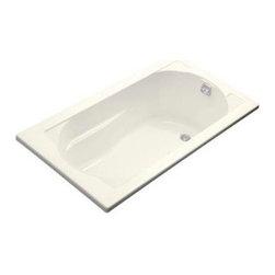 KOHLER - KOHLER K-1357-G-96 Devonshire 5' BubbleMassage Bath - KOHLER K-1357-G-96 Devonshire 5' BubbleMassage Bath in Biscuit