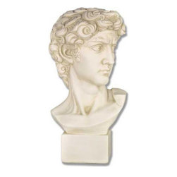 Orlandi Statuary - David Garden Statue Multicolor - F1101 - Shop for Statues and Sculptures from Hayneedle.com! Bring the work of one of the art world's great masters to your own garden with the David Garden Statue. Michelangelo's David is one of the standards by which all stonework is measured. Every meticulous detail is reproduced in this piece from the look in his eye to the solid base upon which it sits. Made from a fiberglass resin to make this sculpture strong but remarkably lightweight this piece has the strength to hold up to the elements.About Orlandi StatuaryBorn in 1911 when Egisto Orlandi traveled from Lucca Italy to Chicago Illinois Orlandi Statuary quickly set the standard for excellence in their industry. Egisto took great pride in his craft and reputation and which is why artists interior designers and museums relied upon the careful details and impeccable quality he demanded. Over the years they've evolved into a company supplying more than statuary. Orlandi's many collections today include fiber stone for the garden religious statuary fountains columns and pedestals. Their factory and showroom are still proudly located in Chicago where after 100 years they remain an industry icon.