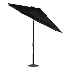 Home Decorators Collection - Home Decorators Collection Patio Umbrellas 9 ft. Auto-Tilt Patio Umbrella in - Shop for Outdoor Patio Furniture at The Home Depot. Keep your outdoor areas in the shade with our 9 ft. Auto Tilt Market Umbrella. Its easy Auto Tilt design and vast fabric options will help keep your outdoors settings comfortable and stylish. Your guests will enjoy staying cool in the shade with this sturdy and stylish outdoor umbrella and the easy collapsible frame makes it easy to store. Purchase one for your home today.