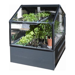 STC Grow Camp Greenhouse 4x4 - The Grow Camp Greenhouse from STC easily snaps together with rigid twin walled 4mm polycarbonate panels. Greenhouse Kits are on Sale Today