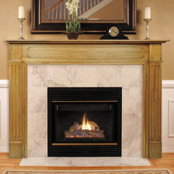 Pearl Mantels - Pearl Mantels Williamsburg Wood Fireplace Mantel Surround - 110-50 - Shop for Mantels and Trim from Hayneedle.com! The Pearl Mantels Williamsburg Wood Fireplace Mantel Surround will illuminate your home with classic beauty and simple elegance. Hand-crafted of natural tight-grained Asian hardwoods and veneer the mantel wood features a grain similar to that of American White Oak which is easy to paint or stain to suit your particular taste. Intricate hand carvings embellish the tight wood grain enhancing the character of this handsome fireplace surround. In addition to providing an attractive frame for your fireplace the 8-inch-deep mantel shelf is the perfect place to display family photos and decorative accents. The interior width of this sturdy fireplace mantel is available in 48 inches 50 inches and 56 inches. Plinth bases are available to increase the height if necessary. About the Pearl InlayPearl Mantels now include a discrete authentic pearl-style inlay on each of their pieces. Your Pearl Mantel may or may not include this feature depending on purchase date. Please contact our Customer Care Center with any questions. About Pearl Mantels Inc.Pearl Mantels Inc. founder Jim Pearl believes in basing his business on honest value quality products and personal service - he even calls clients himself to evaluate their needs and develop leading-edge solutions. Pearl also believes mantels are the emotional core of rooms representing heritage and tradition and displaying precious heirlooms. Each Pearl mantel - made from natural tight-grained Asian hardwoods and veneer - boasts exclusive detail and classic design all at an affordable price. A variety of available finishes ensures Pearl Mantels Inc. indeed has a mantel for every hearth. Wood and MDF are combustible. Please review heat clearance specifications before installation. Consult your local building codes and manufacturer information regarding your specific insert or stove.