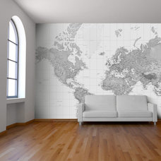 Contemporary Wallpaper by Wallpapered