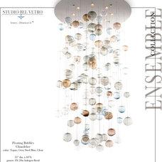 Contemporary Chandeliers by Studio Bel Vetro