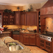 traditional kitchen lighting and cabinet lighting by EnvironmentalLights.com