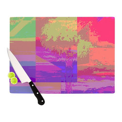 """Kess InHouse - Nina May """"Impermiate Poster"""" Cutting Board (11.5"""" x 15.75"""") - These sturdy tempered glass cutting boards will make everything you chop look like a Dutch painting. Perfect the art of cooking with your KESS InHouse unique art cutting board. Go for patterns or painted, either way this non-skid, dishwasher safe cutting board is perfect for preparing any artistic dinner or serving. Cut, chop, serve or frame, all of these unique cutting boards are gorgeous."""