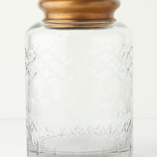 Contemporary Bathroom Canisters by Anthropologie
