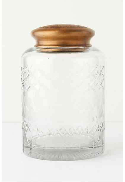 Contemporary Bathroom Canisters The Chemist's Jar