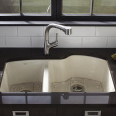 Eclectic Kitchen Sinks by Kohler