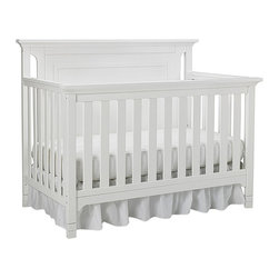 Ti Amo - Ti Amo Carino Convertible Crib - Snow White - Classically styled with modern appeal the Ti Amo Carino Convertible Crib - Snow White was created for design savvy parents who are small space dwellers and want to maximize their style. The smaller scale furniture is urban contemporary in design. The delicate unfiltered lines lend a clean and classic look. Converts to toddler daybed and full-size bed. Dimensions 44.8 x 56.7 x 31.7. Weight 67 lbs.