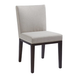 Sunpan - Vintage Fabric Dining Side Chair - Set of 2 Multicolor - SUNP256 - Shop for Dining Chairs from Hayneedle.com! Adorable and perfect for all occasions the Vintage Fabric Dining Side Chair - Set of 2 makes a great statement piece in any dining room. The solid wood frame is slim and armless for a contemporary look. Your choice of upholstery available in a variety of colors.About SunpanSunpan is a global furniture company. They specialize in designing and manufacturing contemporary- and transitional-style furnishings. Sunpan takes pride their designs which reflect international trends in fashion and interior design. Sunpan is the ideal choice for your modern home.