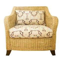 Woven Abaca Club Chair by Padma's Plantation - $1,166 Est. Retail - $350 on Chai -