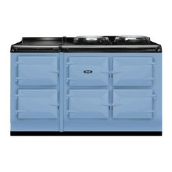 AGA Total Control 5 Oven Range Cooker, Duck Egg Blue | ATC5-DEB - The new TC5, the latest model in the Total Control series, brings you five large cast iron ovens, two hotplates and a warming plate to deliver incredible capacity and flexibility.