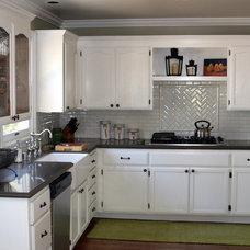 Traditional Kitchen Cottage Kitchen by Valerie Pedersen