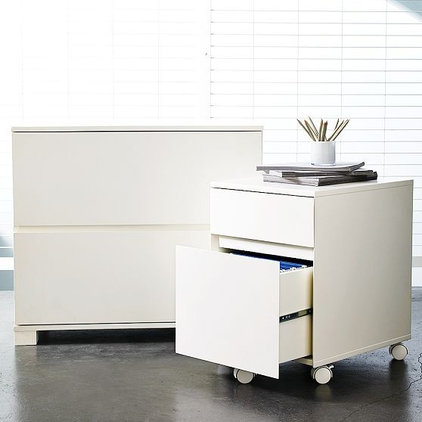 Contemporary Filing Cabinets And Carts by West Elm