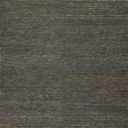 """Loloi Rugs - Loloi Rugs Zuhri Collection - Bluespruce, 7'-9"""" x 9'-9"""" - The Zuhri Collection from India features 100% eco-friendly jute, with a strategic mix of hand-knotted and hand-looped construction to add textural interest. Zuhri features a plush pile, and is available in a series of sophisticated color combinations that will instantly enhance a variety of room settings."""