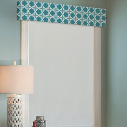Simply Chic - Kellie Clements Simply Chic Valance - Kellie Clements Simply Chic Valance enhances your window treatment with a finishing touch with a variety of styles and patterns.