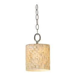 Varaluz - Naturals 1 Light Mini Pendants in Terra Silver - This 1 light Mini Pendant from the Naturals collection by Varaluz will enhance your home with a perfect mix of form and function. The features include a Terra Silver finish applied by experts. This item qualifies for free shipping! Wattage:60, Lamp Type:Medium Base, Bulbs:1