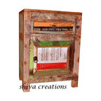 Reclaimed wood nightstand drum India - Shiva Creations is a part of SHIVA Groups, a Jodhpur based Indian wooden furniture manufacturer and Indian furniture exporter. Jodhpur, the second largest city of Rajasthan is world famous for its arts and handicrafts. Jodhpur has been epicenters of Indian handicrafts, Indian style furniture sets and many more wooden products woven integrally with tourism to embrace the mundane visitors and tourists. With centuries passing by into deep transformation, but there has been enough time to recall Jodhpur for its vast reservoir of wooden handicrafts.