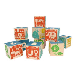 Count and Stack Number Blocks - These colorful blocks with different colors, numbers and illustrations on each side are sure to entertain.