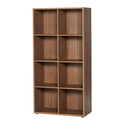Unilin Division Panels - didit click furniture 8 Cubby Open Cabinet - 28W in. - Italian Walnut Brown - 42 - Shop for Bookcases from Hayneedle.com! As easy to assemble as it is stylish. The didit clic furniture 8 Cubby Open Cabinet - 28W in. - Italian Walnut comes together in a flash and has a sturdy yet streamlined modern design. Simply click together and it's built - there's no screws tools or frustration. This open cabinet is made of strong laminate in an Italian walnut finish you'll love. Its eight roomy cubbies means there's plenty of space.About UnilinUnilin for smart living. Unilin is 50-year-old company based in Belgium that is part of the American Mohawk Industries Inc. Unilin creates a variety of home products including flooring division panels and insulation. From the start they have focused on discovering ways to utilize sustainable products recycle and maximize green activities. Unilin stands for (r)evolution. They innovate by investing in design research and development and the latest technologies. Unilin aims to create top-quality home products that are as beautiful as they are convenient.