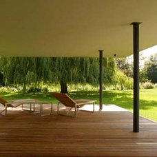 03 Attwood House – Backyard porch Design on Collection of modern, minimalist,
