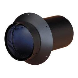 "SELKIRK CORPORATION - 8"" Model DSP Double-Wall Stovepipe Masonry Adaptor - 8"" model DSP double-wall stovepipe masonry adaptor"