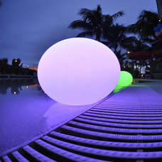 Contemporary Outdoor Lighting by Lightology